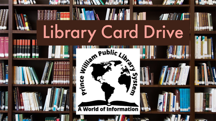 This is the image for the news article titled Public Library Card Drive