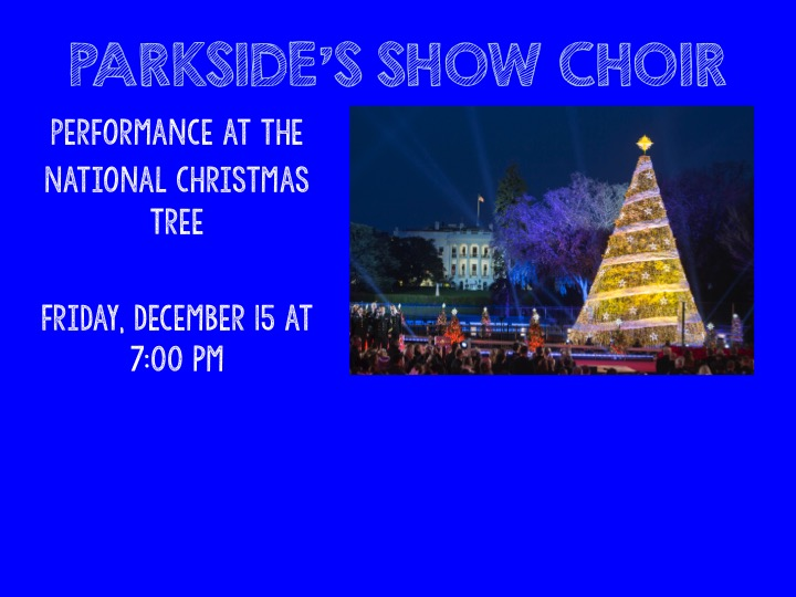 Show Choir Performance 12/15
