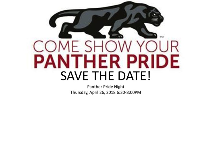 panther pride night