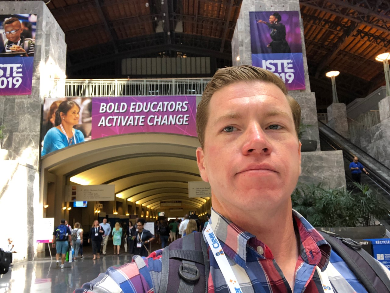 Invited to ISTE (Tech Conference for Teachers from all over the world)